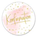 Konfirmation rosa Aquarell