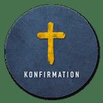 Konfirmation goldenes Kreuz