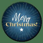 Merry Christmas mit Stern