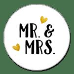 Mr. & Mrs. kleine Herzen
