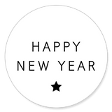 Sluitzegel happy new year