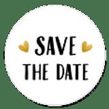 Sluitzegel save the date