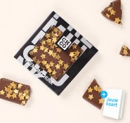 Chocolade chunk met sterren 2