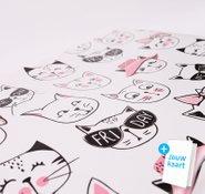 Toilettas kattenprint 2