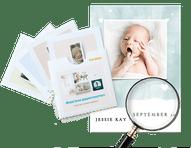 proefdrukpakket geboortekaartjes