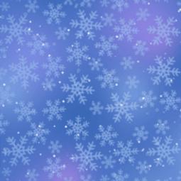 Kerstachtergrond blauw sneeuwvlokken