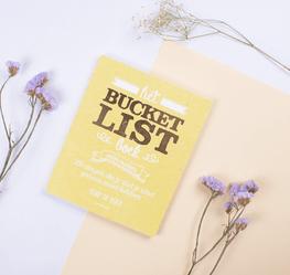 Bucketlist boek voor ouders