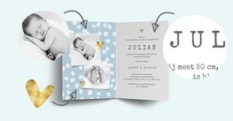 Personaliseer je geboortekaartje