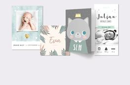 Geboortekaartjes & babykaarten