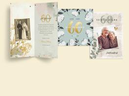 60 jaar jubileumkaarten