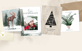 Kerstkaarten trends Woodland Wonders