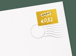 kerstkaarten goedkoop maken met decemberzegels