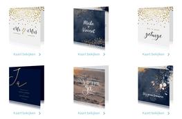 Kies een trouwkaart uit de collectie