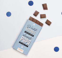 'Leukste papa' chocoladereep