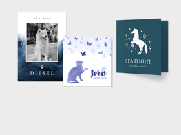 Condoleancekaarten voor huisdieren