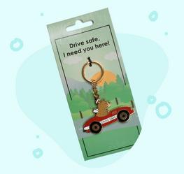 Auto sleutelhanger