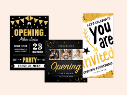 Uitnodigingen opening