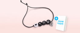 Armbandje 'I love you'