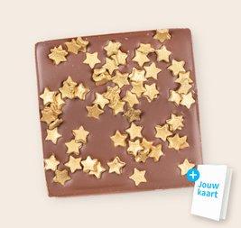 Chocolade chunk met sterren 3