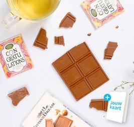 Cadeaupakket 'Congratulations' chocolade 2