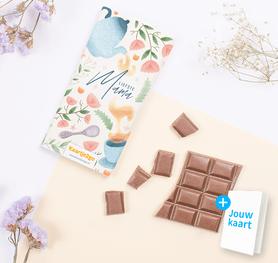 Chocoladereep 'Liefste mama' 1