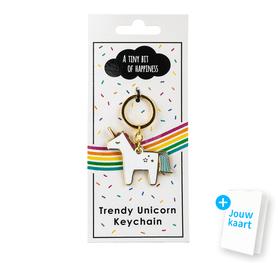 Unicorn sleutelhanger 1