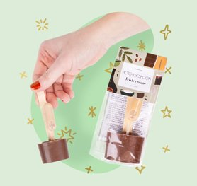 Chocolate spoon Irish Cream  2