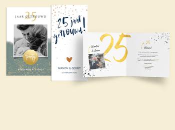 25 jaar zilveren huwelijk