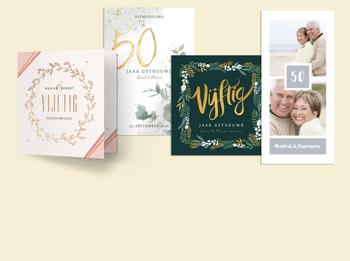 50 jaar gouden huwelijk