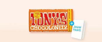Tony's Chocolonely karamel zeezout
