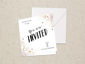Uitnodiging bedrijfsfeest