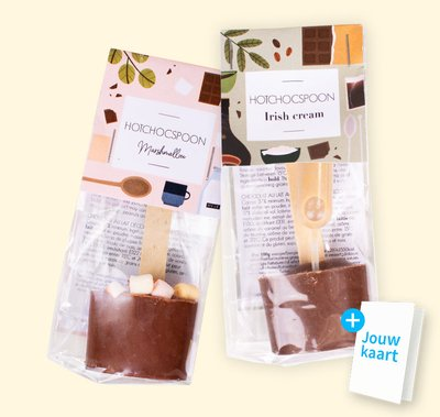 Chocolate spoon giftpack 2