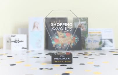 Kaartje2go wint shopping awards XL 2019