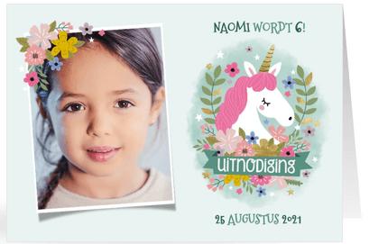kinderfeestje unicorns