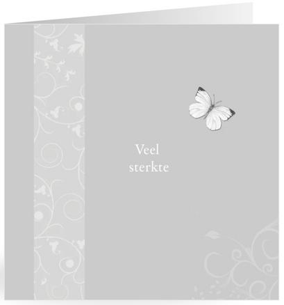 condoleancekaart sterkte vlinder