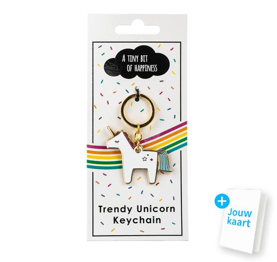 Unicorn sleutelhanger