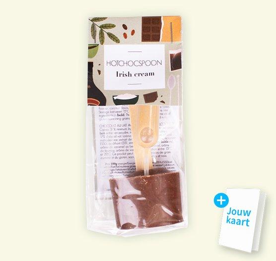 Chocolate spoon Irish Cream
