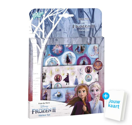 Stickerset Frozen