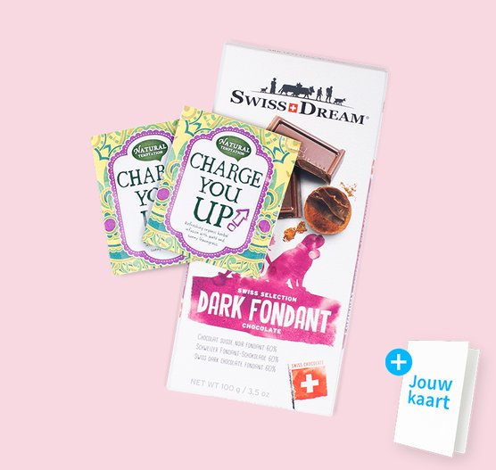 Cadeaupakket 'Charge you up'