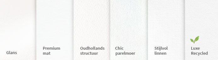 papiersoorten