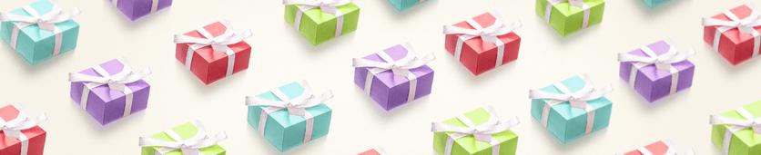 Kaart met een cadeautje erbij bestellen