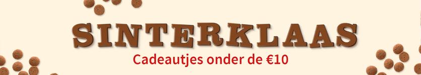Sinterklaascadeautjes onder de €10