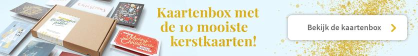 Kaartenbox kerst