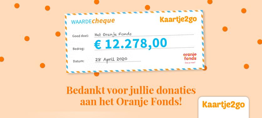 Steun het Oranje Fonds