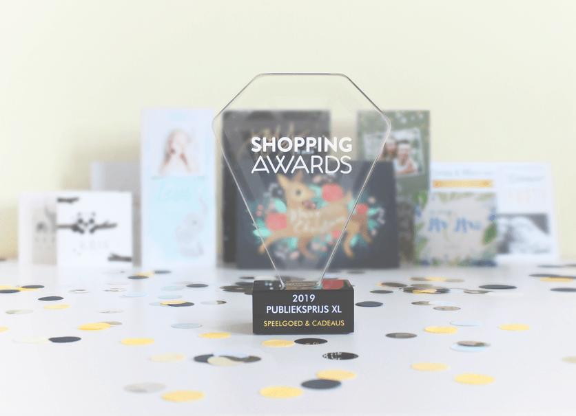 Shopping Award - Kaartje2go winnaar