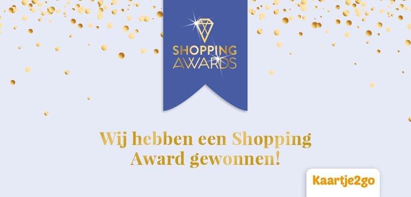 Kaartje2go wint opnieuw Shopping Award publieksprijs