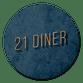 21 diner donkerblauw
