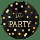 Let's party confetti krijtbord