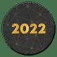 Gouden 2022 verbinding zwart