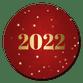 Rood met gouden 2022